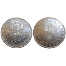 10 Korún Slovenských 1944