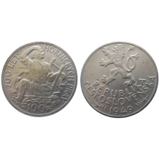 100 KČS 1949 700. let horníckych prav