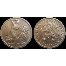 1 Kč 1924