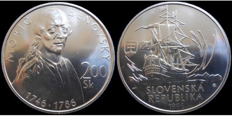 200 SK 1996 Móric Beňovský