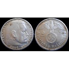 Nemecko 2 marka 1939 A
