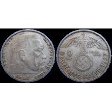 Nemecko 2 marka 1937 A