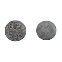 Salzburg 1/2 Kreuzer 1716 FA