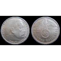 Nemecko 2 marka 1939 D