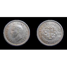 Anglicko 3 Pence 1939
