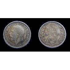 Anglicko 3 Pence 1920