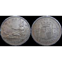 Španielsko 2 Pesety 1870