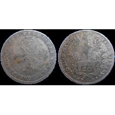 Frankfrut 20 grajciar 1770