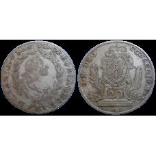 Bavorsko 20 grajciar 1769 A