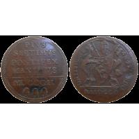 Vatikán 1 Baiocco 1802