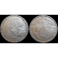 Nemecko 2 marka 1938 E