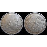 Nemecko 2 marka 1938 A