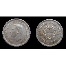 Anglicko 3 Pence 1940