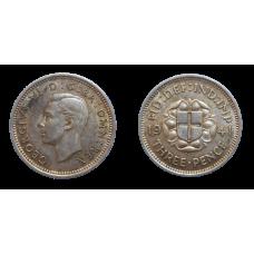 Anglicko 3 Pence 1941