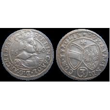 Arcivojvoda Ferdinand 3 grajciar 1640