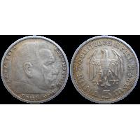 Nemecko 5 mariek 1935 G