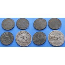 Konvolut ríšskych mincí