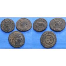Konvolut bližšie neurčených antických mincí