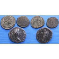 Konvolut antických mincí