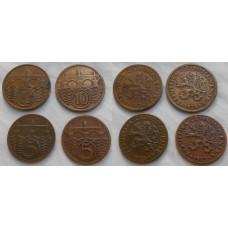 Konvolut mincí prvej ČSR