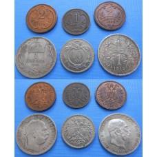 František Jozef I. Konvolut korunových mincí