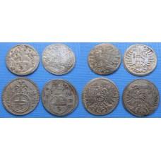 Leopold I. Konvolut mincí