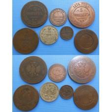 Konvolut ruských mincí - 7 kusov