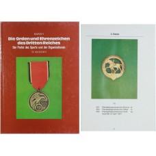 Die Orden und Ehrenzeichen des Dritten Reiches