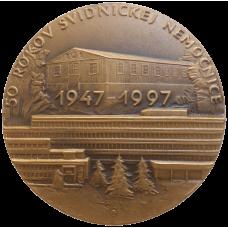 Medaila 50 rokov Svidníckej nemocnice