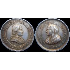 Medaila Pius IX 1846 - 1866