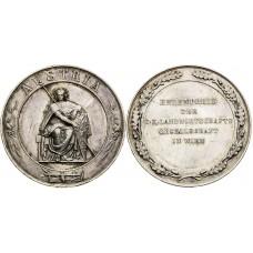 Strieborná poľnohospodárska záslužná medaila