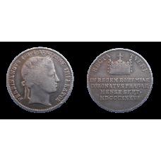 Ferdinand V. Malý Pražský korunovačný žetón 1836