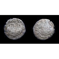 Rudolf II. denár 1604 KB