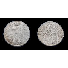 Ferdinand I. denár 1532 KB Flat typ