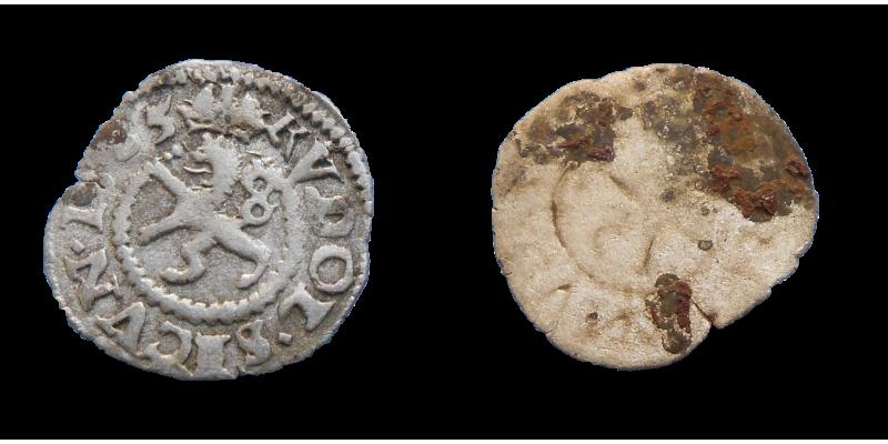 Rudolf II. Biely peniaz 1585