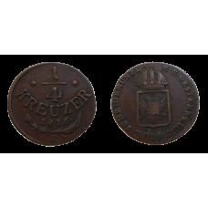 František II. 1/4 grajciar 1816 B
