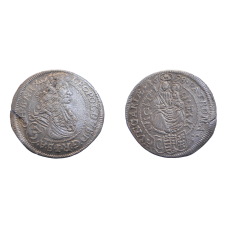 Leopold I. 3 grajciar 1698 CH Bratislava