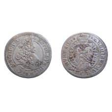 Leopold I. 3 grajciar 1698 CB