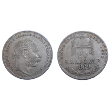 František Jozef I. 20 grajciar 1869 KB