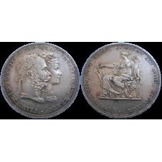 František Jozef I. 2 zlatník svadobný  1879