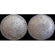 František Jozef I. 1 zlatník 1861 A