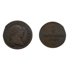 Jozef II. 1/4 grajciar 1781 A