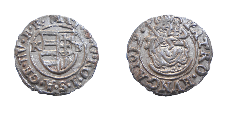 Matej II. denár 1619 KB