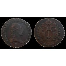 František II. 1 grajciar 1800 S