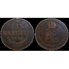 František II. 1 grajciar 1816 O