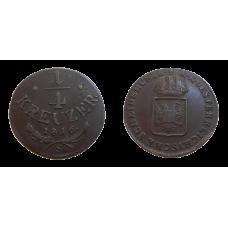 František II. 1/4 grajciar 1816 S