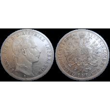 František Jozef I. 1 zlatník 1860 A
