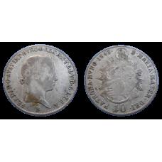 Ferdinand V. 10 grajciar 1843 B