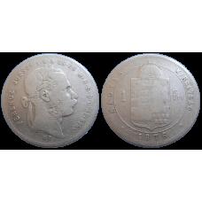 František Jozef I. 1 zlatník 1876 KB
