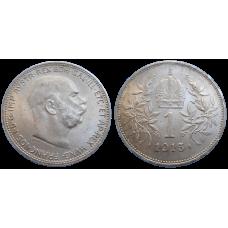 František Jozef I. koruna 1915 bz
